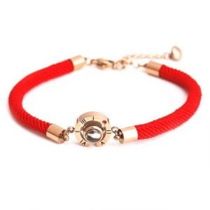 100 Languages - I Love You Bracelet Red Rope Trendy Joys