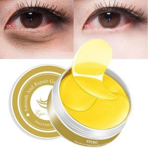 60 Pieces Gold Eye Mask - Anti Aging Eye Patches Trendy Joys