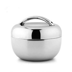Adult Lunch Box Stainless Steel with Bag 800ml Trendy Joys