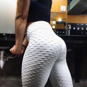 Anti Cellulite Compression Leggings White / L Trendy Joys
