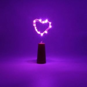 Bottle Lights Pink Trendy Joys