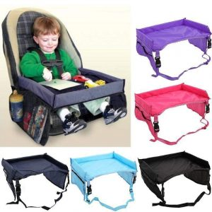 Car Seat Tray Red Trendy Joys