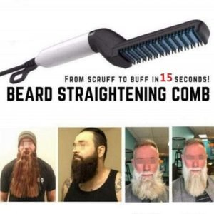 Hair and Beard Straightener Comb Trendy Joys