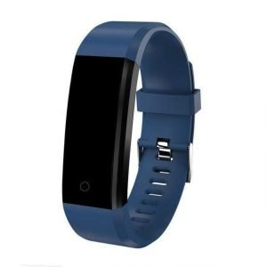 Kids Smartwatch Pedometer & Fitness Tracker - Sporty Design Blue Trendy Joys