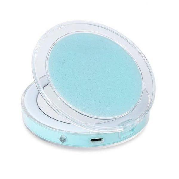 Led Compact Travel Makeup Mirror
