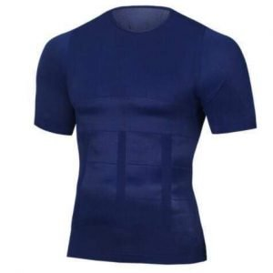 Men's Compression Shirt - Posture Correcting, Quick Dry Workout Shirt Navy / L Trendy Joys