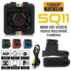 Mini Camera Black 480p Trendy Joys