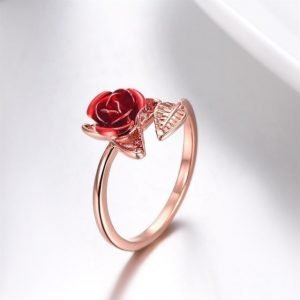 Rose Ring Rose Gold Trendy Joys