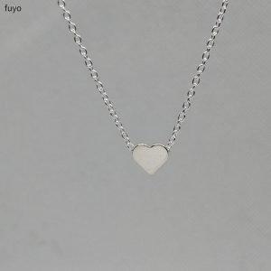 Tiny Heart Necklace silver Trendy Joys